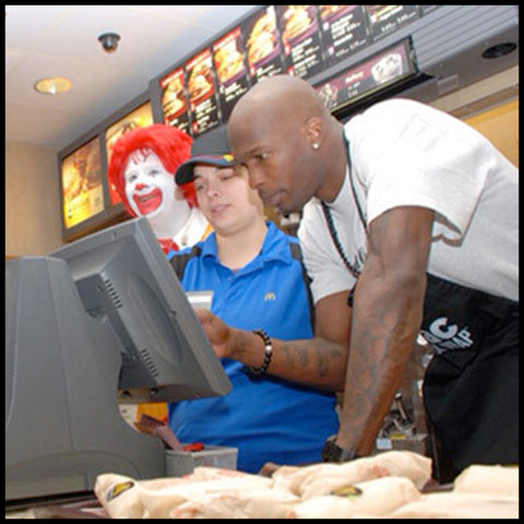 Chad Johnson McDonalds