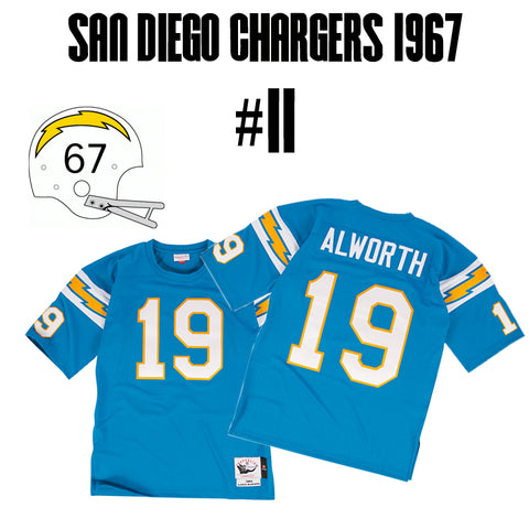 San Diego Chargers Greatest Jersey of All Time