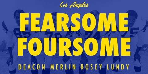 Fearsome Foursome Los Angeles Rams