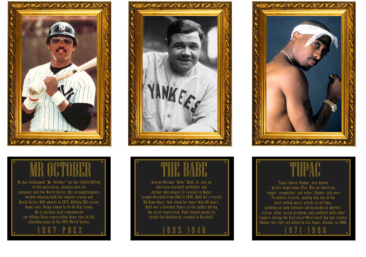 Legends Hall of Fame - Babe Ruth