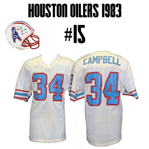 Houston Oilers Greatest Jersey of All Time