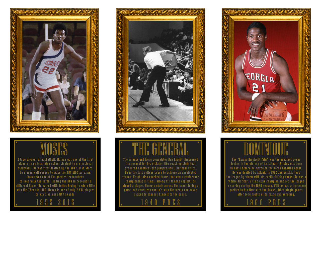 Legends Hall of Fame - Moses Malone