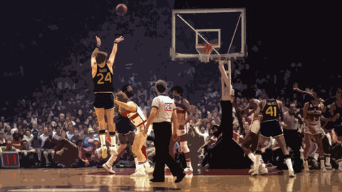Rick Barry 1975 NBA Finals MVP