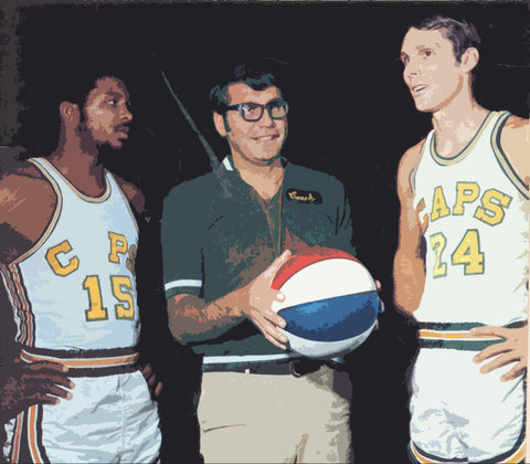 Rick Barry - Bruce Hale - Warren Jabali
