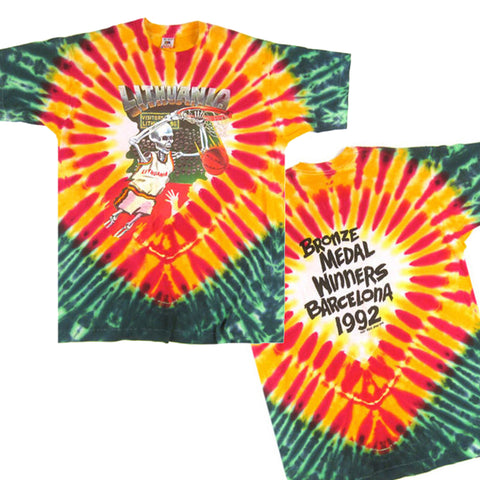 Grateful Dead Lithuania Tie Die Shirt