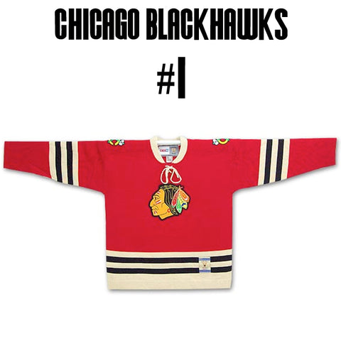 Blackhawks Greatest Jersey of All Time