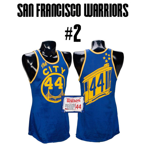 Warriors The City Jersey
