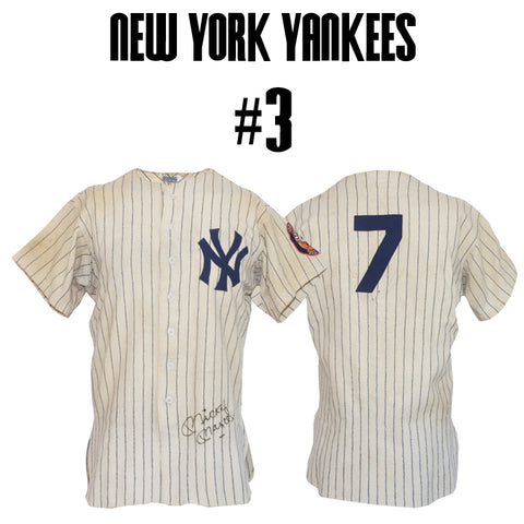 New York Yankees Greatest Jersey of All Time