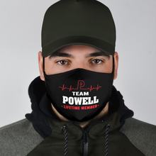 Load image into Gallery viewer, Team Powell face mask