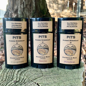 PITS - Rugged Deodorant