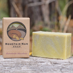 Mountain Man Soap, Soap for Men, Beard Soap, Mountain Meadow, Lavender, Clary Sage Soap
