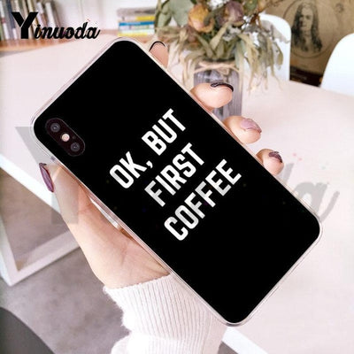 """Drink Good Coffee"" Phone Case"