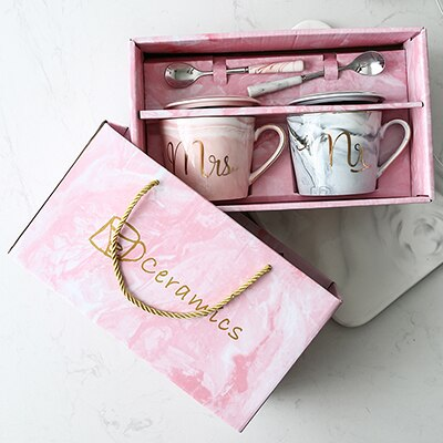 Luxury Porcelain Coffee Cups Gift Set
