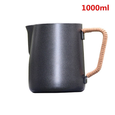 Insulated Handle Milk Pitcher
