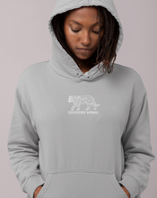 Load image into Gallery viewer, White Tiger Unisex Hoodie