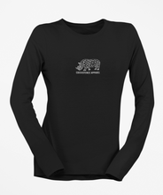 Load image into Gallery viewer, Womens Long Sleeve White Rhino Tee