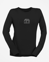 Load image into Gallery viewer, Womens Long Sleeve White Elephant Tee