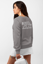 Load image into Gallery viewer, Made to Coexist Sweatshirt - White Tiger Back Print