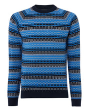 Load image into Gallery viewer, Remus Uomo - Fairisle Knit - Blue