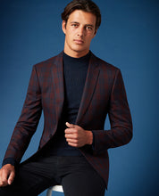 Load image into Gallery viewer, Remus Uomo - Jacket - Burgundy Check