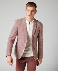 Remus Uomo - Jacket - Red Houndstooth