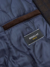 Load image into Gallery viewer, Douglas - Tailored Coat - Brown/Navy Check