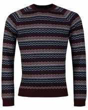 Load image into Gallery viewer, Remus Uomo - Fairisle Knit - Wine