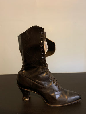 Antique Women's Leather Boots