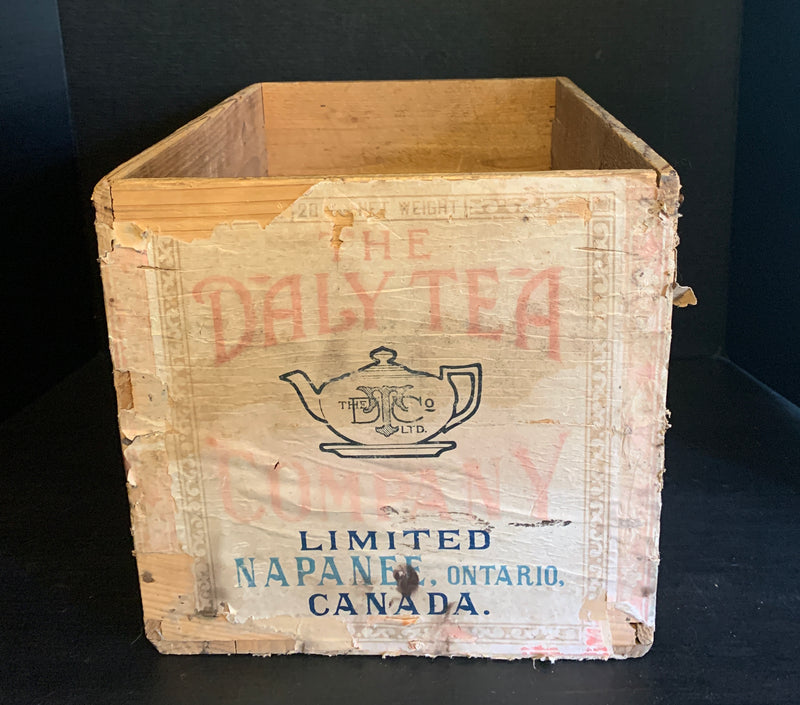 Daley Tea Crate