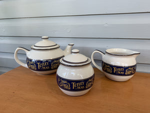 Tea Pot and matching cream and sugar