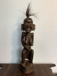 Wooden Statue - Woman