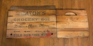 Folding Easton's Crate
