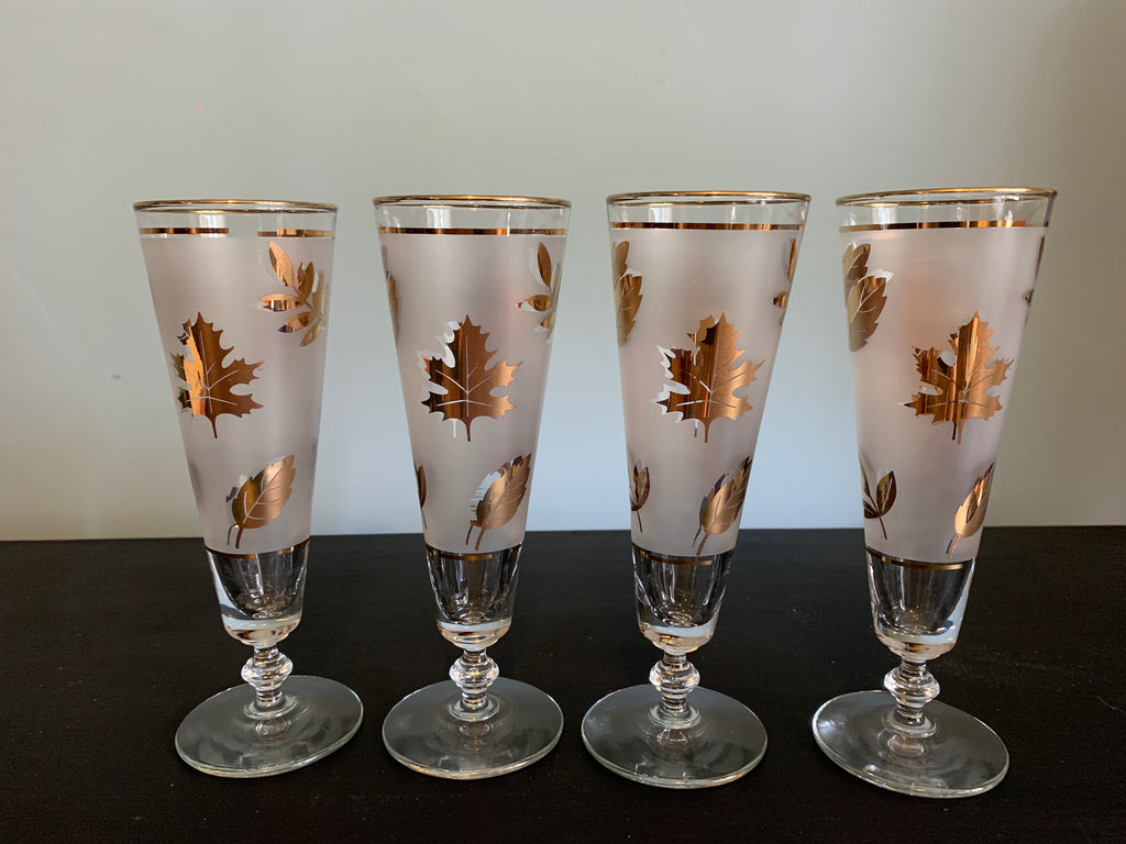 Set of 4 Pilsner Beer Glasses