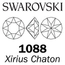 SWAROVSKI  Wholesale Xirius Chaton 1088 Crystal Silver Shade - Factory Pack