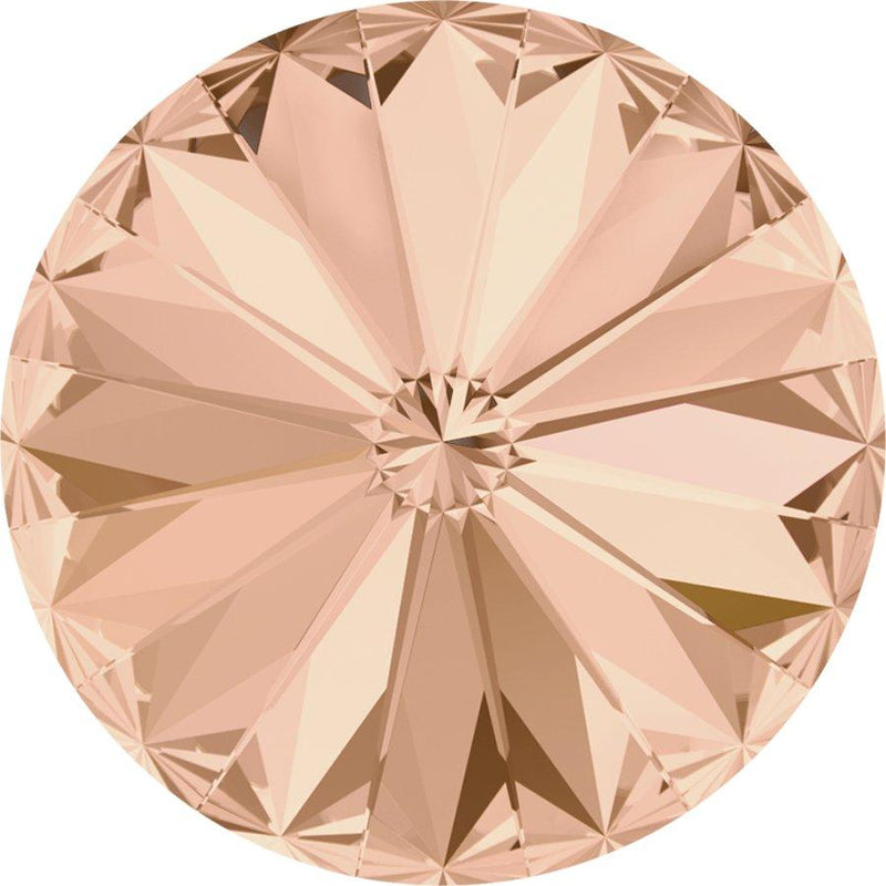 SWAROVSKI Rivoli Stone 1122 Light Peach
