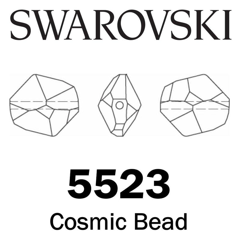 SWAROVSKI  Wholesale Beads 5523 Cosmic -  Crystal AB - Factory Pack