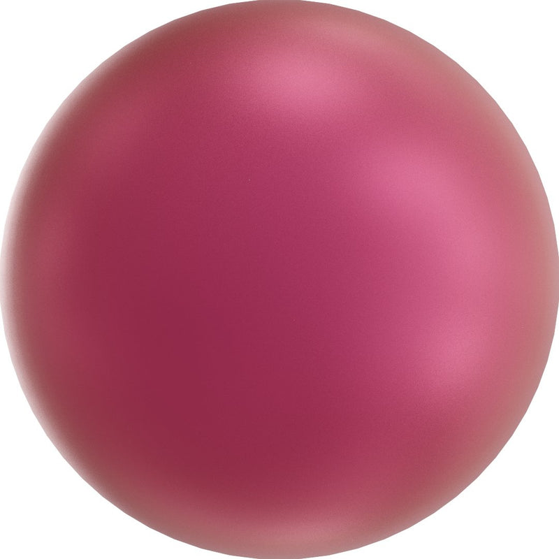 SWAROVSKI 5810 Round-Drilled Crystal Mulberry Pink Pearl
