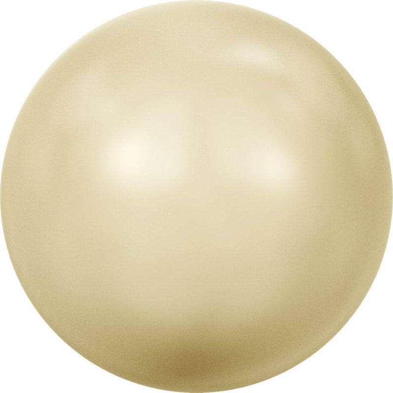 SWAROVSKI 5810 Round-Drilled Crystal Light Gold Pearl