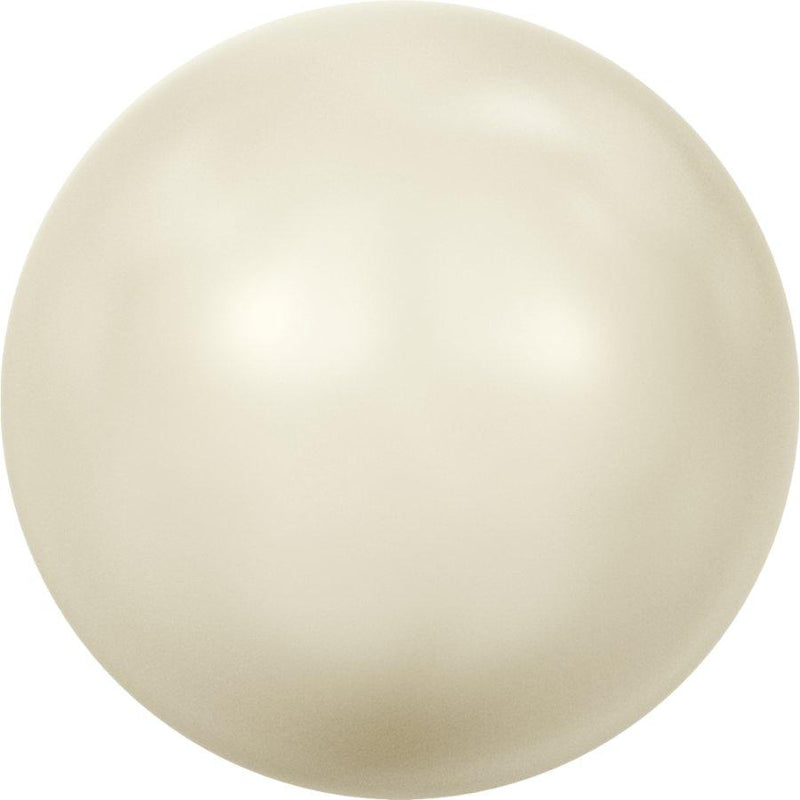 SWAROVSKI 5811 Round-Drilled Large Hole Crystal Cream Pearl