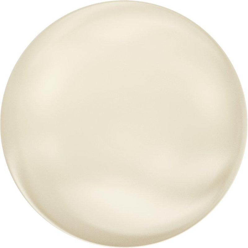 SWAROVSKI 5860 Coin  Crystal Cream Pearl