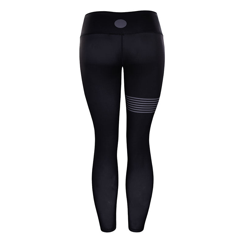 black high waisted gym leggings