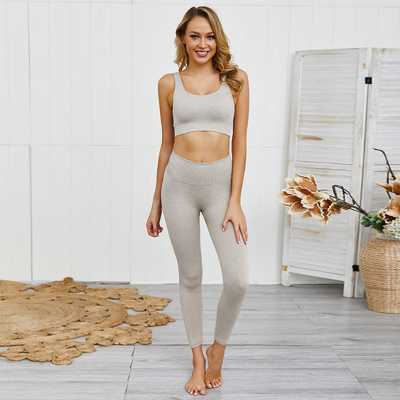 two piece yoga outfits
