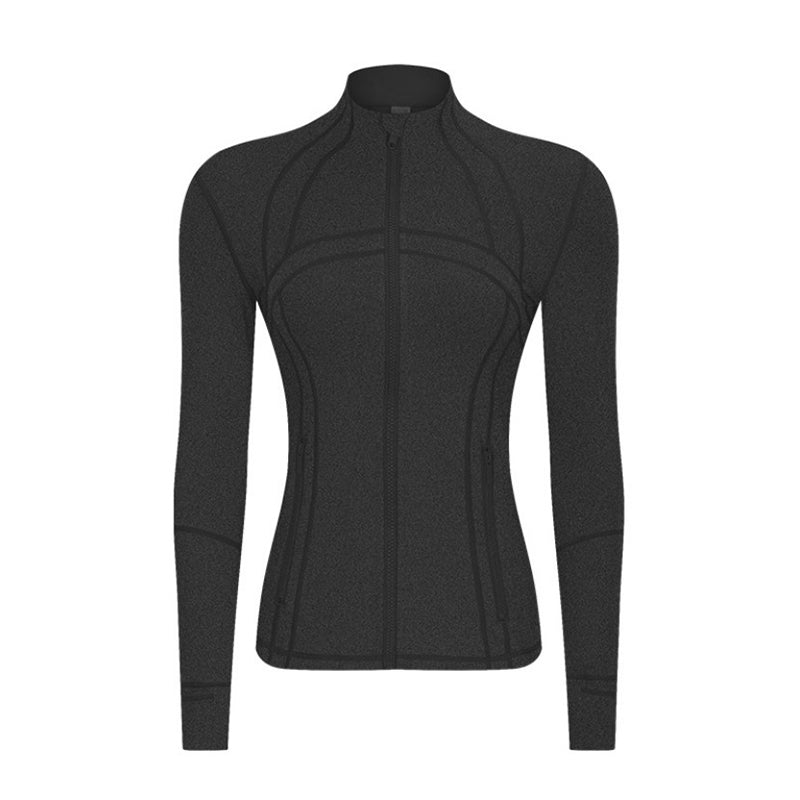 zip up workout jacket