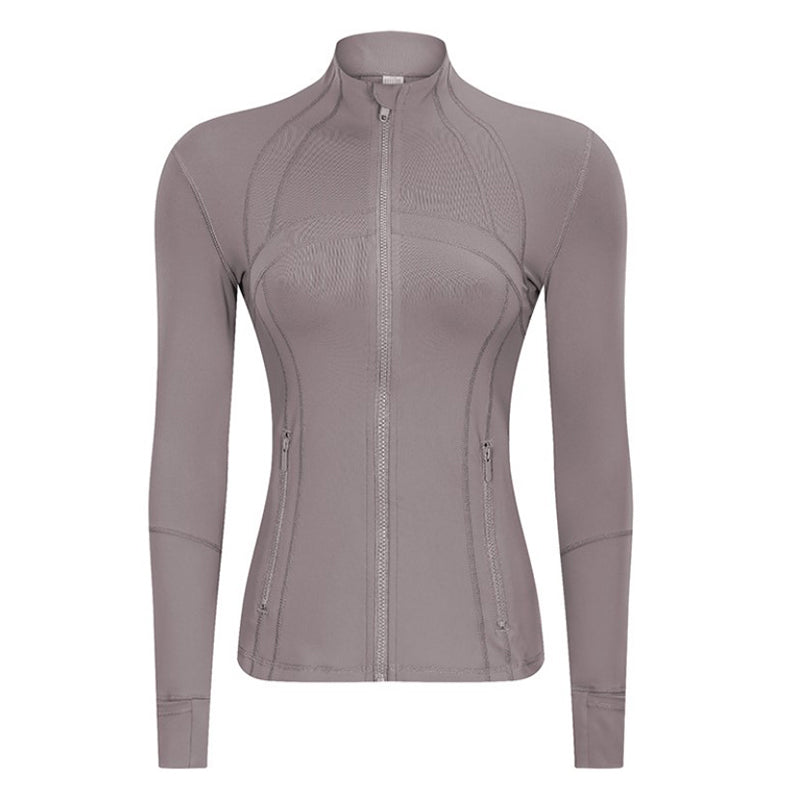 activewear jackets with thumb holes