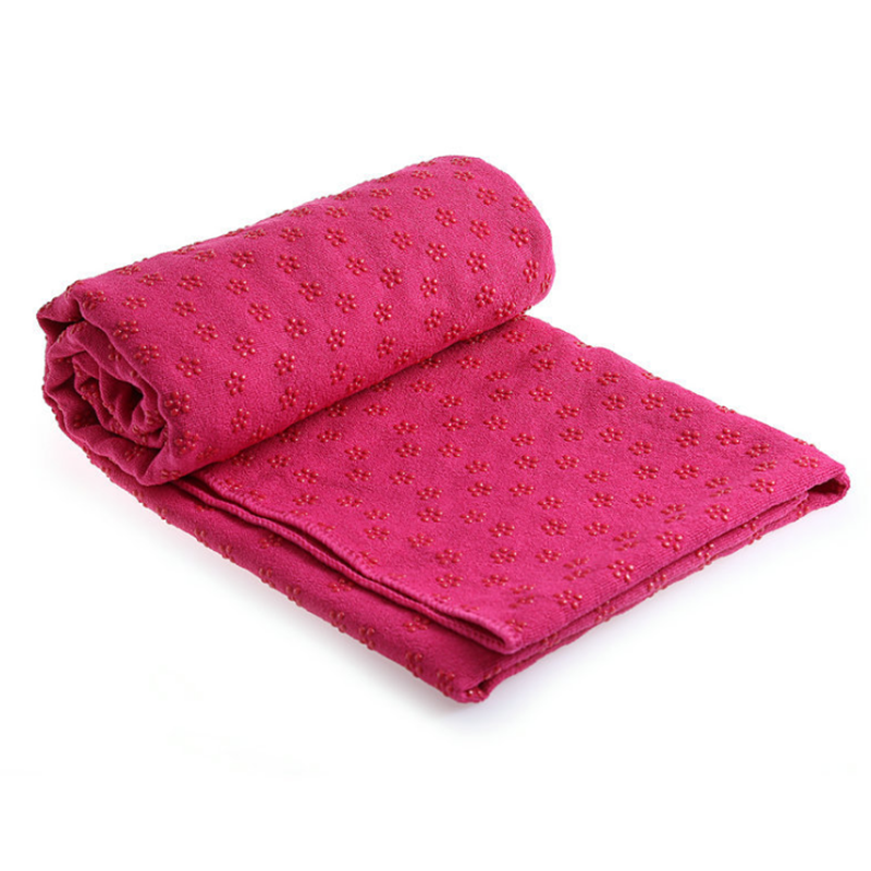 hot yoga towel with grips