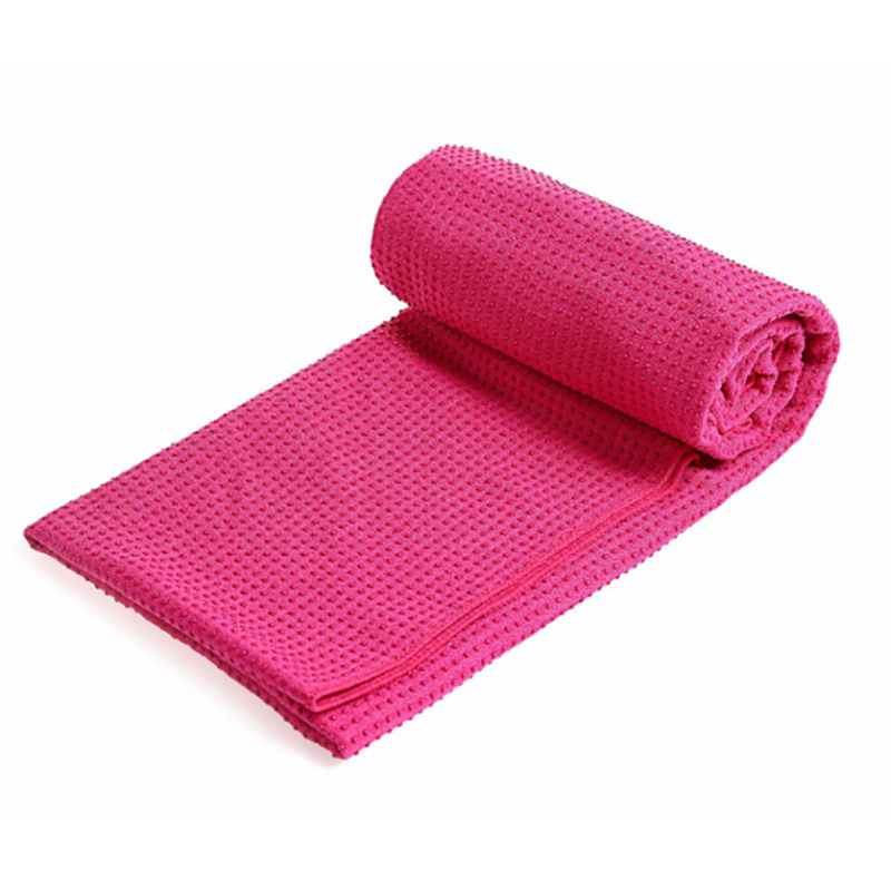 non slip hot yoga towel