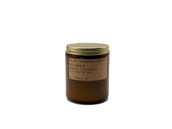P.F. Teakwood Candle