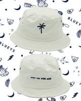 Blueys White Bucket Hat