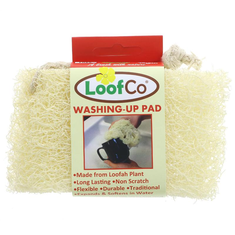 Dish washing up pad -  loofah
