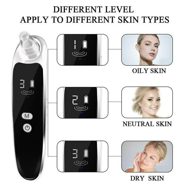 Vacuum Acne & Blackhead Removal SPA Therapy USB Rechargeable - Health Mob
